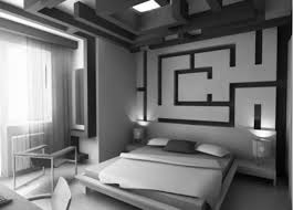 bedroom interior decorations inspiring small black and white