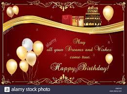 elegant birthday card also for print happy birthday elegant