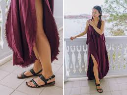 pretty thing dresses dress hey pretty thing burgundy dress black sandals