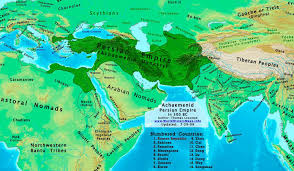 Siberia On World Map by Persia 500bc Jpg