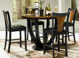 Dining Room  Modern Bar Height Kitchen Table Wonderful Tall - Bar height dining table with 8 chairs