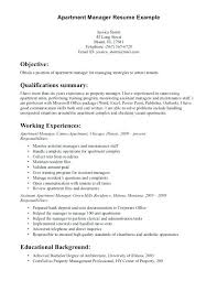 Resume For Assistant Manager Sample Assistant Property Manager Resume Property Manager Manager