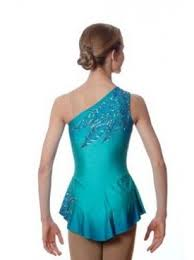 del arbour d70a z50 airbrushed skating dress for figure skating