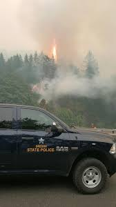 Wild Fires In Oregon State by Eagle Creek Fire Continues To Grow Sen Wyden Presses Trump For