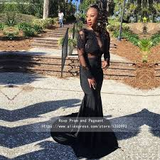 aliexpress com buy custom made long sleeve black african prom
