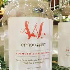cosmopolitan bottle empower cocktails home facebook