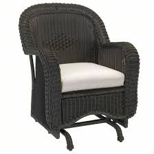 Chicago Wicker Patio Furniture - classic outdoor wicker single glider