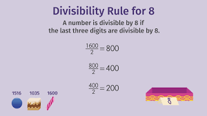 divisibility rules 4 5 8 10 u2013 made easy