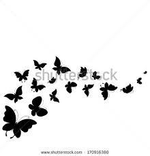 butterflies design stock vector 170916380