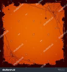 grunge halloween background black spiders illustration stock