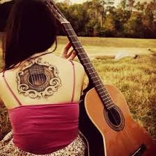 tattoo 3d guitar 15 best guitar tattoo designs with meanings for girls guys