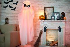 Halloween Room Decoration - halloween room decoration stock vector image 39050034