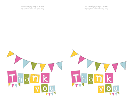 thank you card excellent decorations thank you cards printable