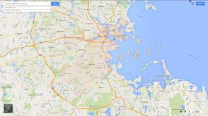 Map Of Boston Ma Boston Massachusetts Map