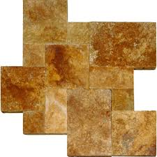 Tuscany Pavers San Diego by Ms International Riviera 16 In X 24 In Tumbled Travertine Paver