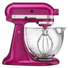 light pink kitchenaid stand mixer kitchenaid ksm155gbri artisan design series raspberry ice 5 quart