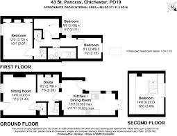 4 bedroom terraced house for sale in st pancras chichester west