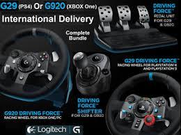 volante per xbox one logitech de g29 ps4 g920 xbox one volant p礬dales gearstick