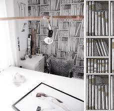 tapisserie bureau papiers peints pour un bureau scandinave au fil des couleurs