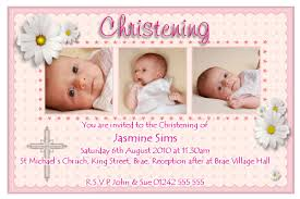 Invitation Card Formats Great Examples Of Baptism And Christening Invitation Cards Emuroom