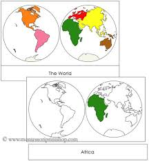 continents by hemisphere each continent is shown in traditional