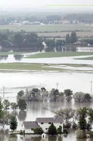 Flooding Missouri Map Flood Of 2011 Displayed Strength Of Missouri River North Dakota