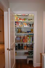 pantry shelving systems modern kitchen design with recessed