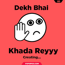 Generate Meme Online - memegenerator jo baka dekh bhai meme generator
