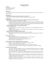 Resume Jobs Unix by Objective For Resume For Experienced Resume Examples 2017