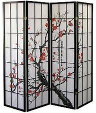 Shoji Screen Room Divider by 1110 4 Legacy Decor Oriental Room Divider Screen Plum Blossom