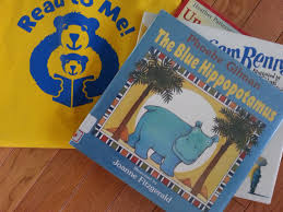 the blue hippopotamus by phoebe gilman illustrated by joanne