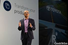 toyota address microsoft takes stake in new toyota connected car subsidiary that