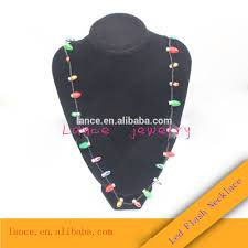 flashing christmas light necklace christmas lights necklace wholesale necklace suppliers alibaba