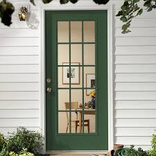Green Upvc Front Doors by Exterior Back Doors Istranka Net