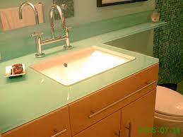 Glass Top Vanities Bathrooms Glass Vanity Tops Category Artistry In Glass