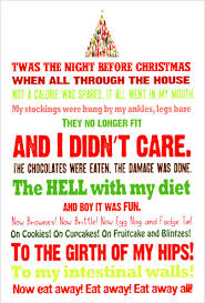 night before christmas box of 12 funny humorous christmas cards