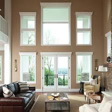 Wood Patio Doors With Built In Blinds by Andersen 400 Series Frenchwood Hinged Patio Door Andersen Outswing
