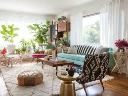 wohnung einrichten ideen wohnung einrichten ideen wohnzimmer deko pflanzen hellblaues sofa