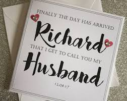 to my on our wedding day card 33 best personalised wedding party cards images on