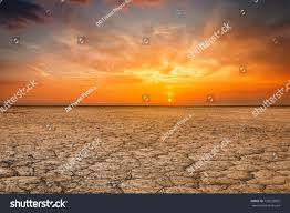 global worming concept cracked scorched earth stock photo