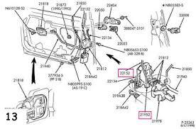 ford focus door handle parts repairing manual door lock taurus car of america ford
