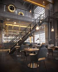 Best  Industrial Bars Ideas On Pinterest Pipe Bookshelf - Restaurant bar interior design ideas