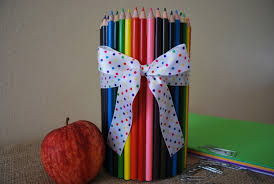 school gifts pencil cup back to school gift for