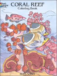 coral reef coloring book 005040 details rainbow resource