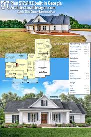 plan 51761hz classic 3 bed country farmhouse plan slab