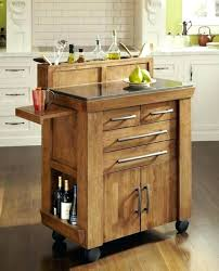 kitchen rolling island rolling butcher block island kitchen island cart bar trolley wood