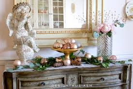 Mixing Silver And Gold Home Decor by How To Use Rose Gold Christmas Decor For The Holidays