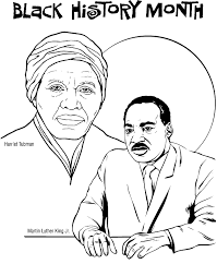 free printable martin luther king coloring pages black history month printables black history coloring pages free