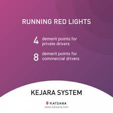 how many points for running a red light kejara system the basics you need to know katsana