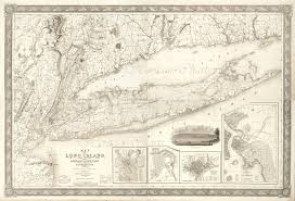 Connecticut New York Map by Long Island With The Environs Of New York And Southern Connecticut